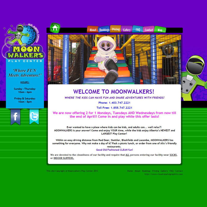Moonwalkers Playcentre