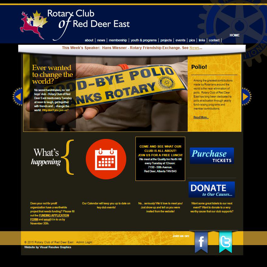 Red Deer Club of Rotary East