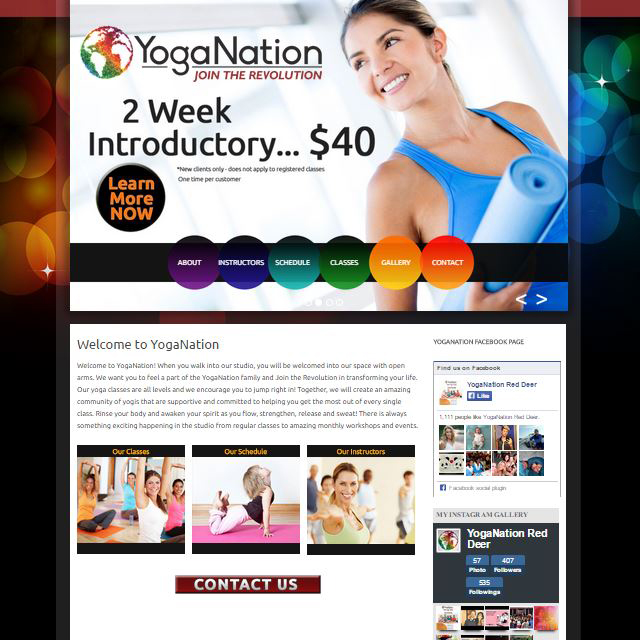 Yoga Nation Red Deer