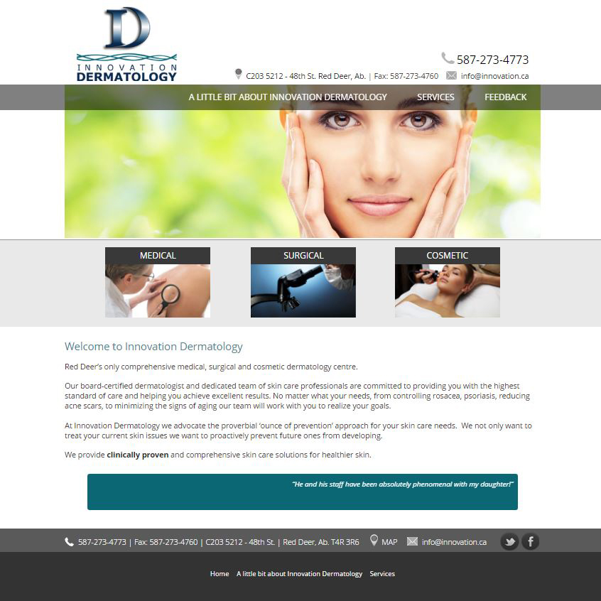 Innovation Dermatology