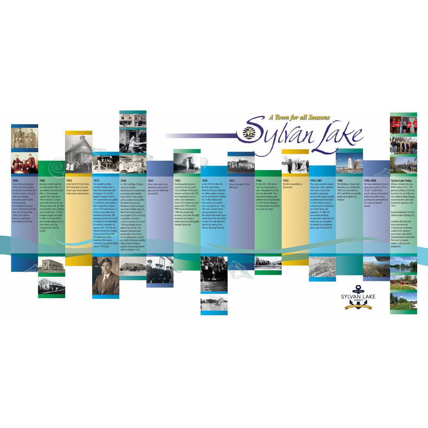 Sylvan Lake Timeline
