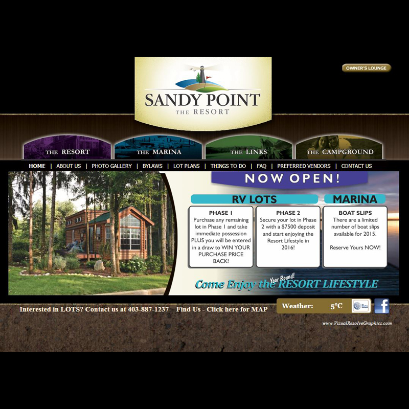 SandyPoint RV Resort