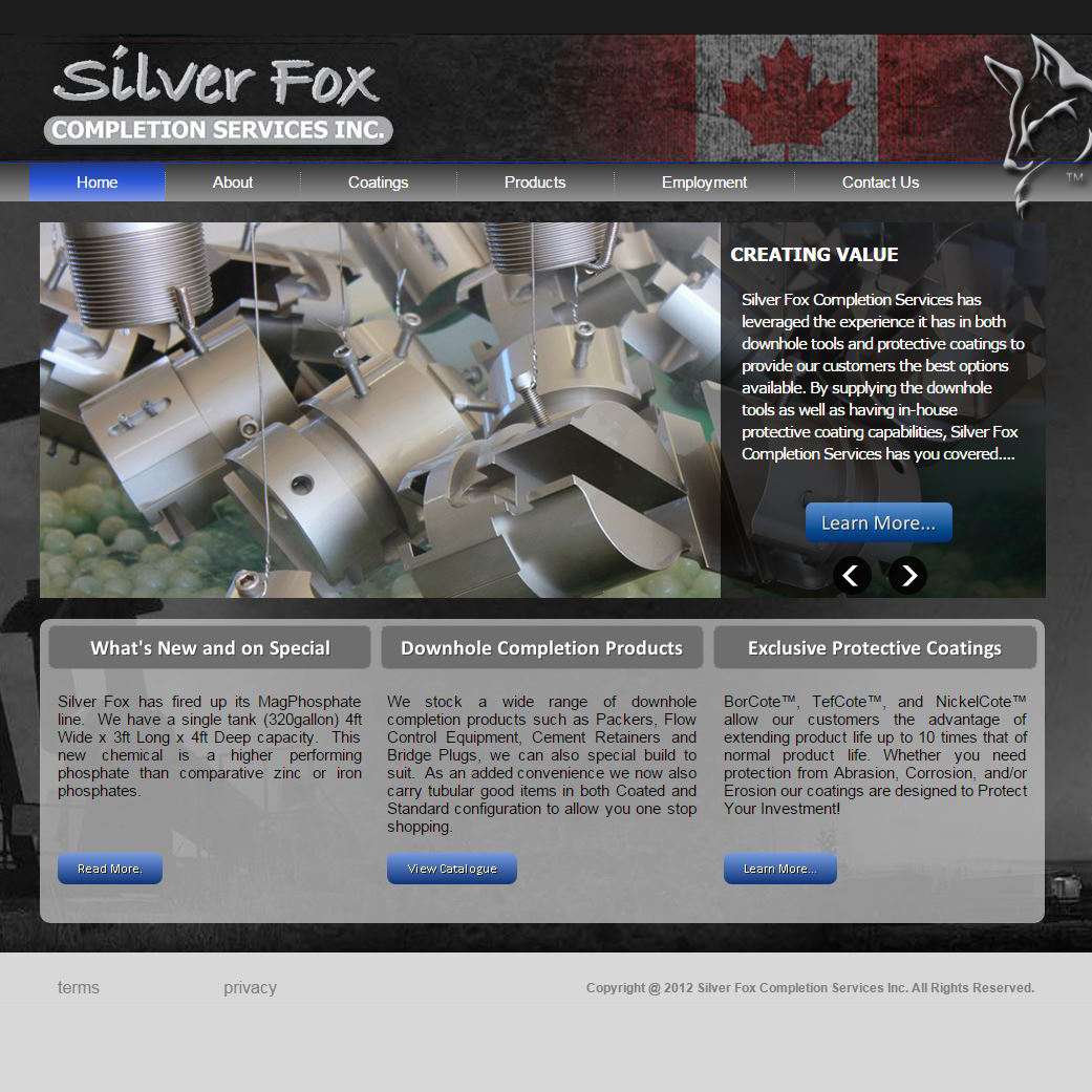 Silverfox Completion Services Inc.