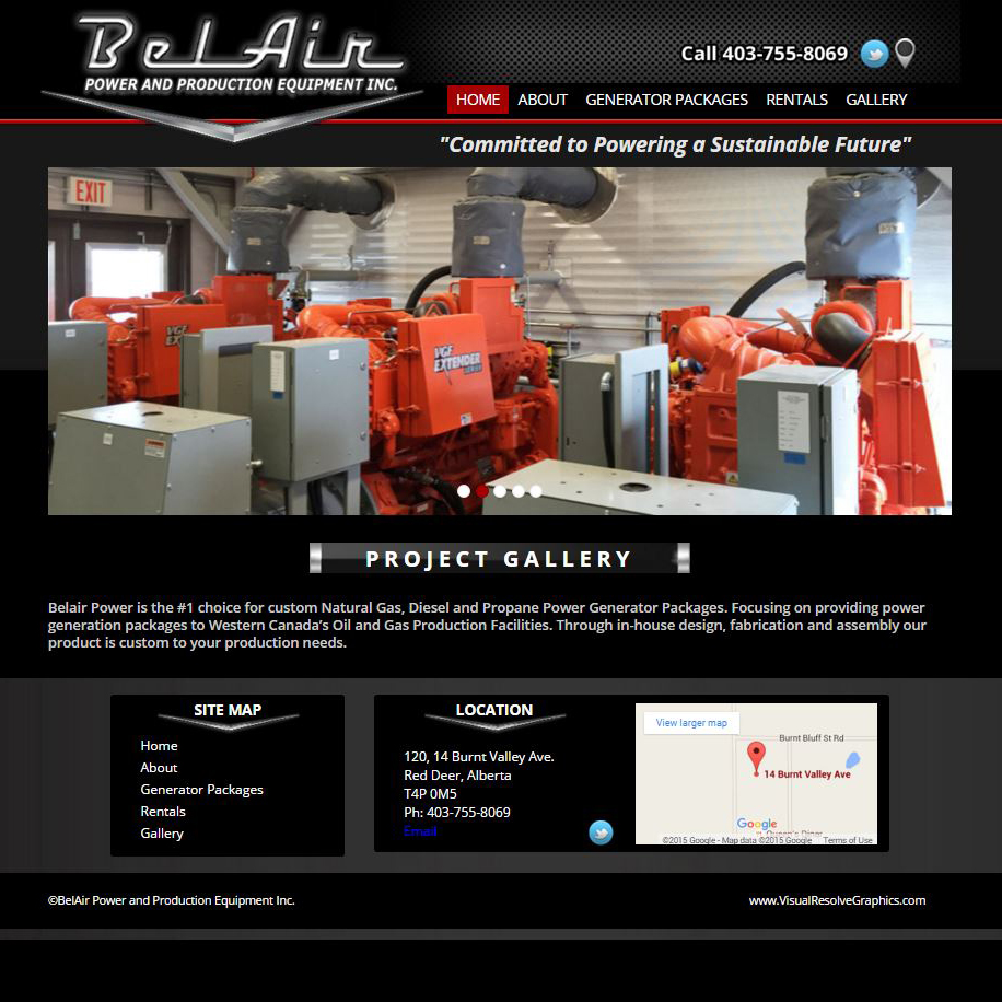Belair Power and Production Equipment Inc.