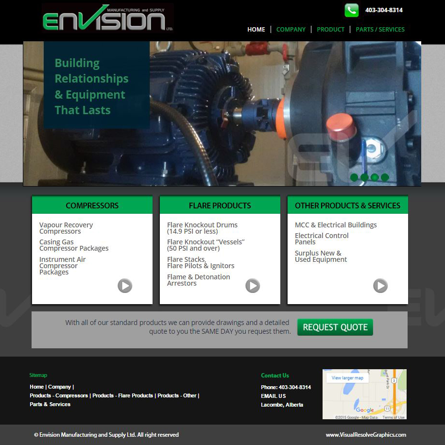 Envision Manufacturing and Supply