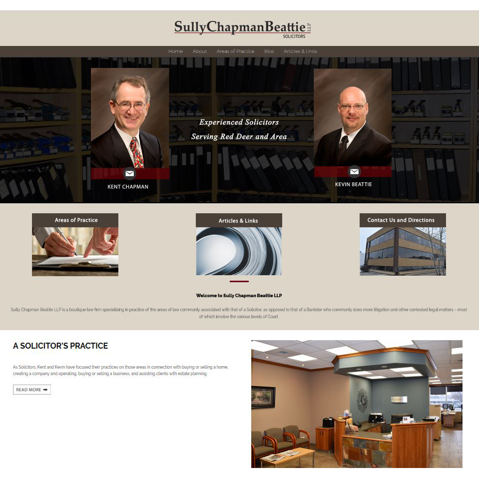 Sully Chapman Beattie Website