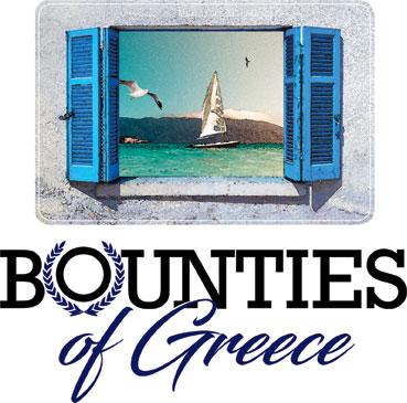 Bounties of Greece Label